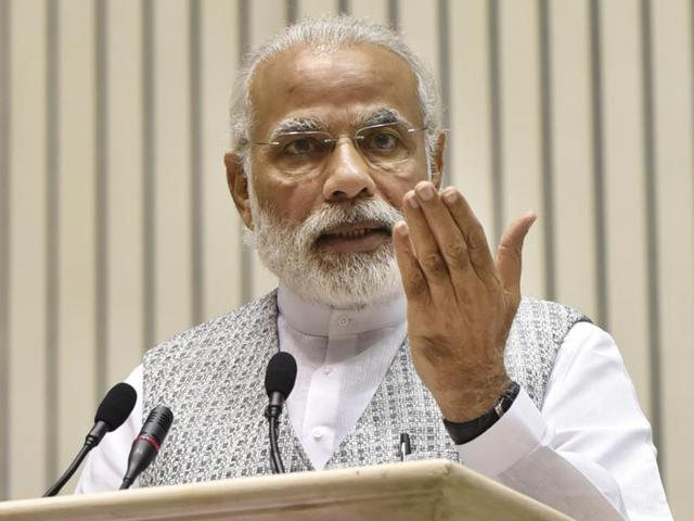 Prime Minister Narendra Modi will kick off the 11-day long 'Gram Uday se Bharat Uday' campaign on April 14 from BRAmbedkar's birthplace, Mhow, in Madhya Pradesh