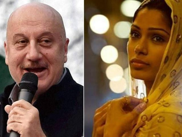 The film on sex trafficking starring Anupam Kher and Freida Pinto will be directed by Tabrez Noorani.