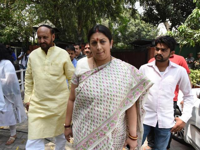 HRD minister Smriti Irani has rejected the demand to shift the unrest-hit NIT campus from Srinagar.