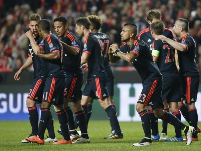 Champions League,Bayern Munich,Benfica
