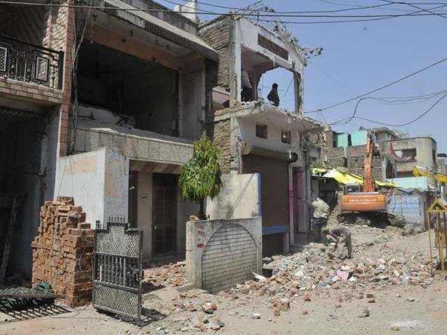 Biyabani,Indore demolition drive,Indore Municipal Corporation