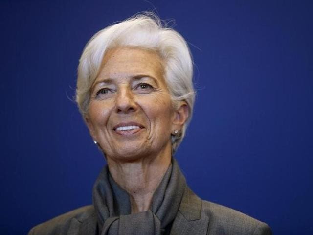 """""""India remains a particular bright spot with rising real incomes and confidence boosting domestic demand,"""" IMF managing director Christine Lagarde said"""