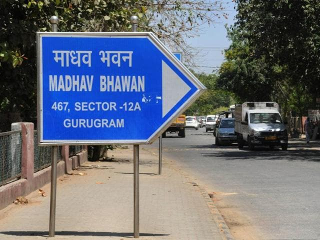 The local branch of the RSS has been using 'Gurugram' instead of Gurgaon in its address for a long time.  The Haryana government has decided to change the name of Gurgaon district to Gurugram,