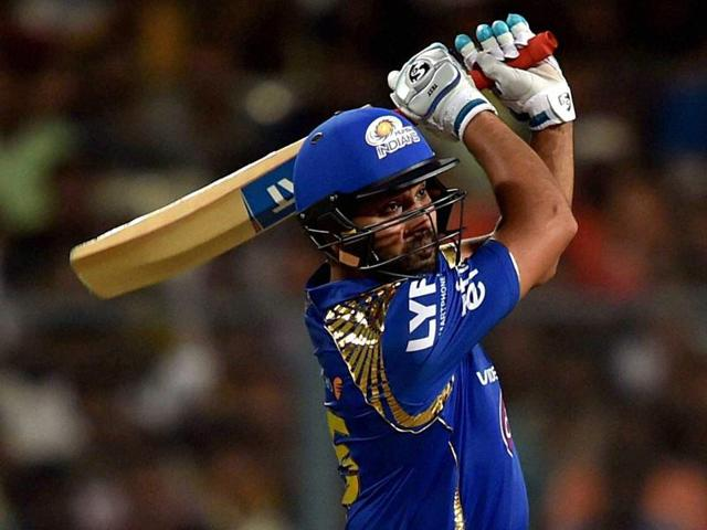Rohit Sharma's  54-ball 84 included 10 fours and two sixes.