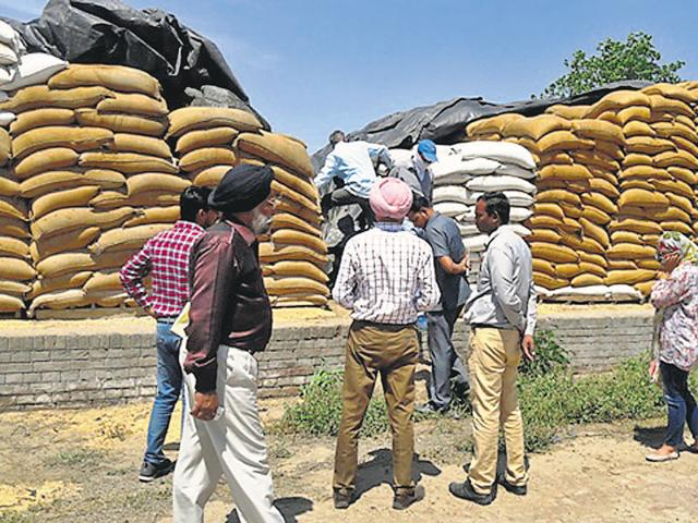 Illegal transfer,1000 wheat bags,Flying squad