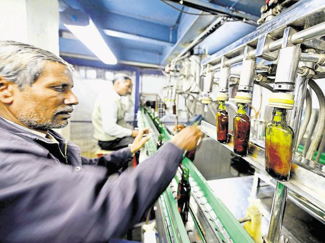 A recent CAG report tabled in the Rajasthan assembly said country liquor stored in three government depots were found unfit for consumption.