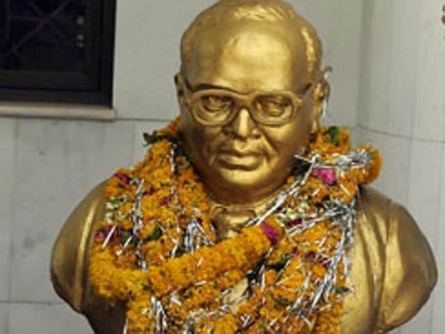 Ambedkar's greatest achievements are in the sphere of ideas, politics and social change that shaped the character of the nation.