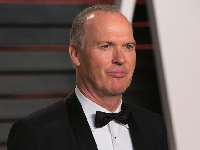 A file picture of US actor Michael Keaton. The actor has been eyed to play the villain in Spider-Man Homecoming.