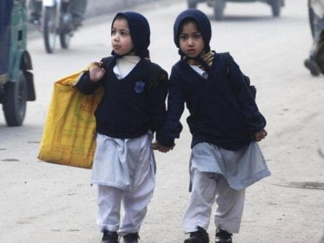 The textbooks, which reach more than 41 million children, negatively portray religious minorities as 'untrustworthy and inferior', the study said.
