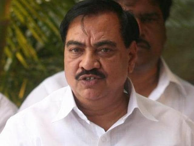 Maharashtra revenue minister Eknath Khadse was in Latur to take stock of the daily 'Water Train' which has been supplying around 5.50 lakh water daily for the drought-hit district.