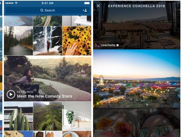 Instagram,Explore,Video Channels