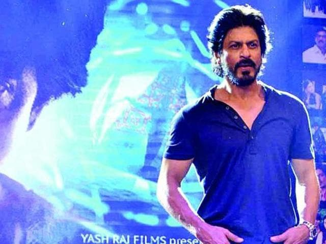 Shah Rukh is in a double role in Fan. (Twitter)