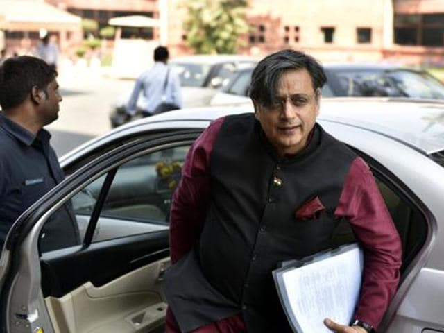 """""""The magic of Indian nationalism is that its not based on a particular language, a particular geography, a particular religion or even a particular ethnicity,""""Shashi Tharoor said in Mumbai ."""