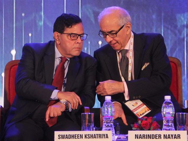 Dignitaries at the BRICS Friendship Cities Conclave in Mumbai on Friday.