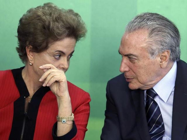 Brazil's Supreme Court on Friday rejected a last-ditch attempt by President Dilma Rousseff (Left) to halt the impeachment process against her, clearing the way for Vice President Michel Temer (Right) to close in on the interim presidency.
