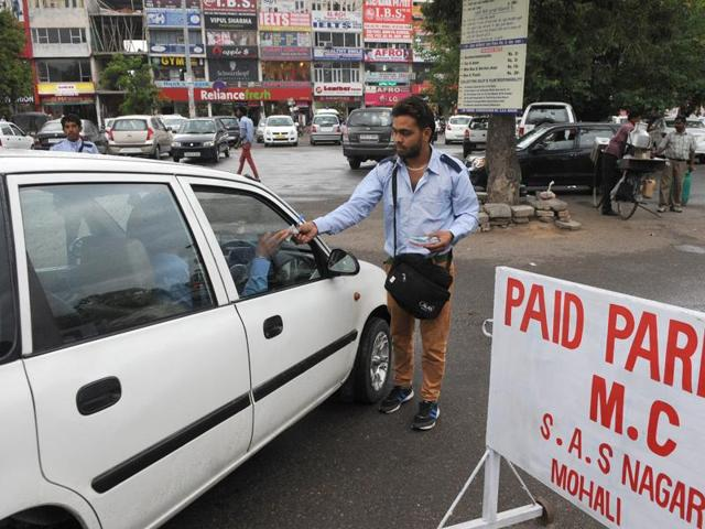 The one-year paid-parking contract ended on April 14.