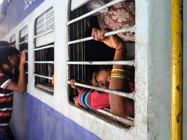 """""""Railways are giving poor services to people and MLAs,"""" accused the Shiv Sena MLAfrom Nanded South constituency."""