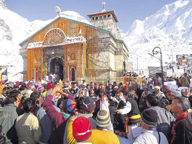 Kedarnath shrine is one of the Char Dhams in Uttarakhand.
