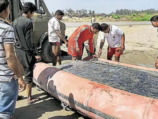 The tragedy took place on Baisakhi when nine boys who had gone to take a bath in the river were swept away by the current.