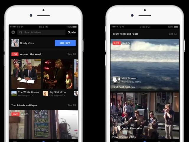 Facebook is testing a new, sectioned news feed, in addition to the current format, though it is unclear if the feature would ever get an official launch