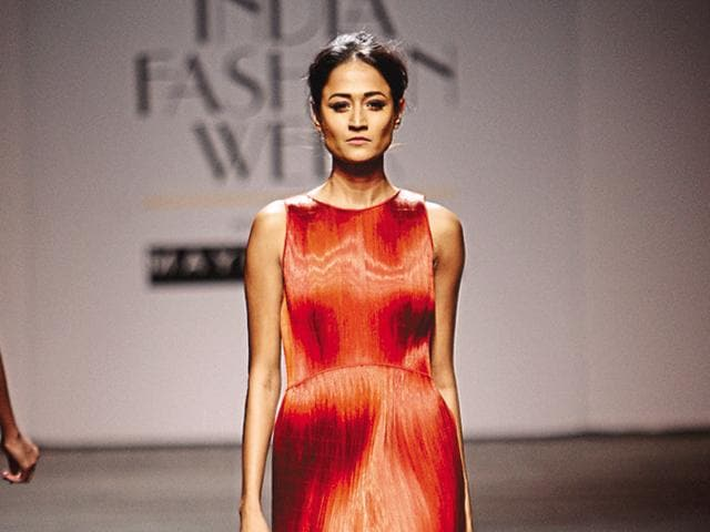 Fashion is art: Rimzim Dadu created a live fashion installation by bringing her karigars to the ramp