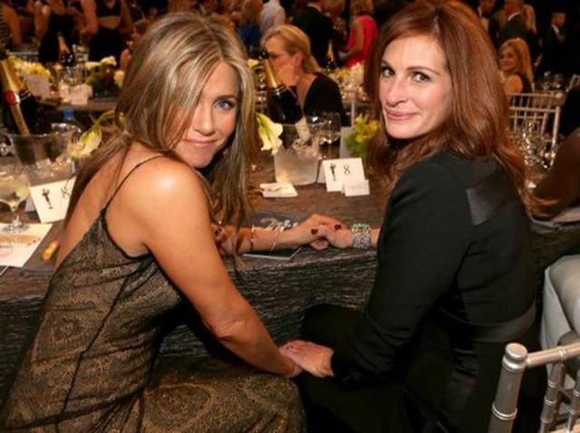 Jennifer Aniston is right, it is Julia Roberts after all.