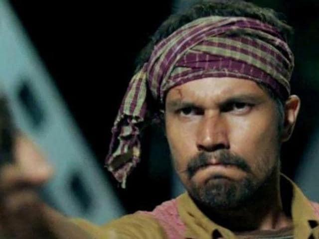 Randeep Hooda will soon be seen in Laal Rang. (YouTube)