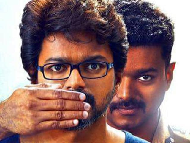 Vijay's film Theri is a masala entertainer, which has all the elements his fans expect.