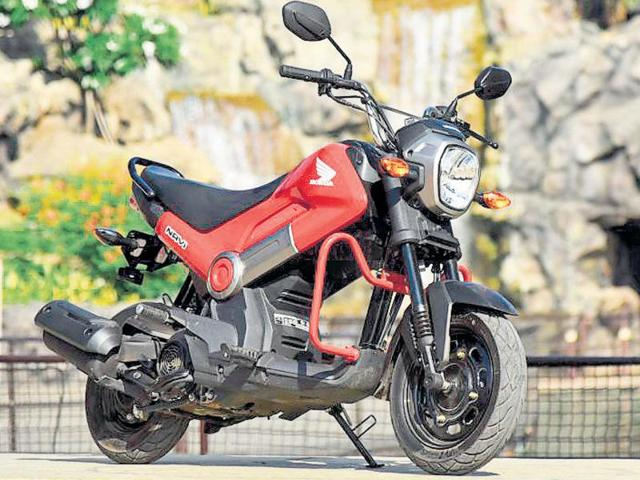 Honda has ensured most of the design elements around the Navi retain a youthful appeal.