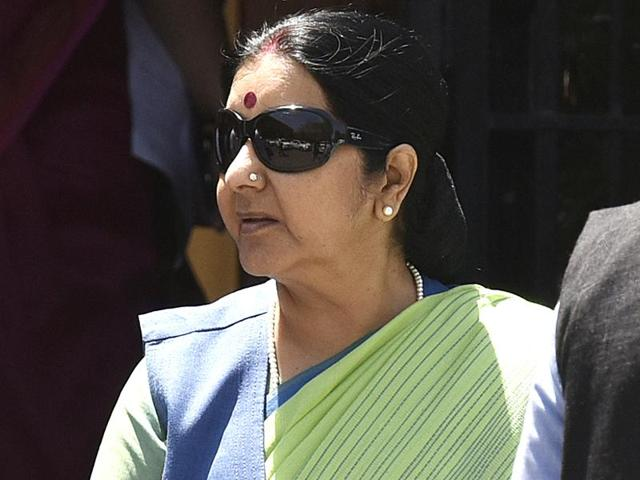 Sushma Swaraj's visit to the oil-rich country comes amid a rush for investment in the resource-rich nation by global economic powers including Japan, China, the US and several European countries after Iran invited foreign companies for joint ventures in many of its crucial sectors including oil and gas.