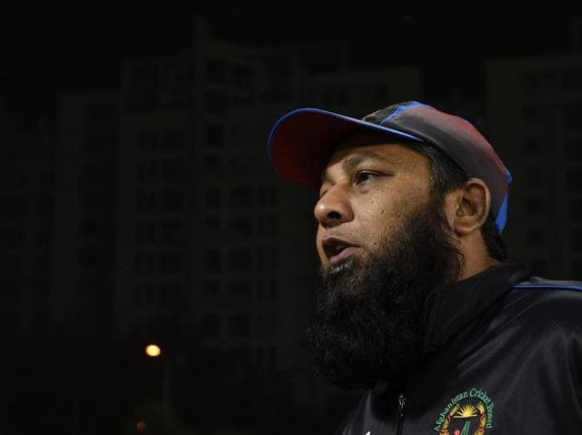 Former Pakistan captain Inzamam-ul-Haq is currently head coach of the Afghanistan national team.