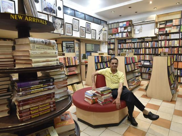 RP Jain runs Motilal Banarsidass with his four brothers. His son and nephew, the fifth generation of the family, have joined the business that started in 1903.