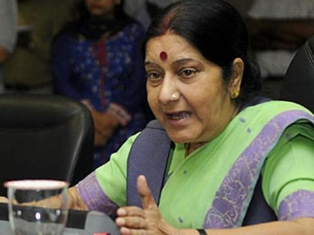 External affairs minister Sushma Swaraj left for her three-day two nation visit on Saturday. She will first land in Tehran and then travel to Moscow on Sunday where she will participate in the annual Foreign Ministers' meeting of RIC (Russia, India and China).