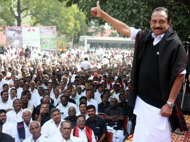 MDMK general secretary Vaiko will contest the May 16 Tamil Nadu Assembly polls.