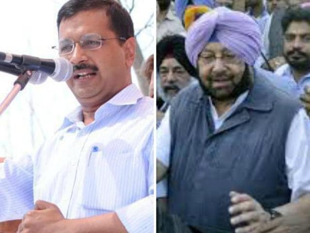 Captain said people of Delhi should demand an answer from Kejriwal as to how he can use their hard-earned money for marketing himself and for doing his politics.