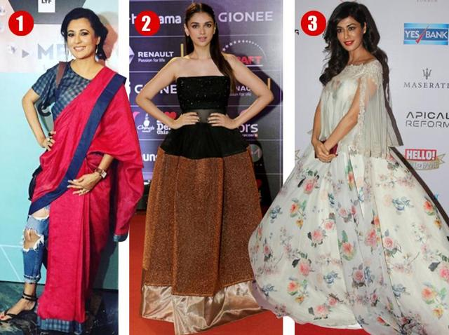Mini Mathur, Aditi Rao Hydari and Chitrangada Singh met serious style disaster in these outfits