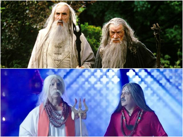 Gandalf and Saruman are aiding Naagins in their tasks to restore naagmanis now