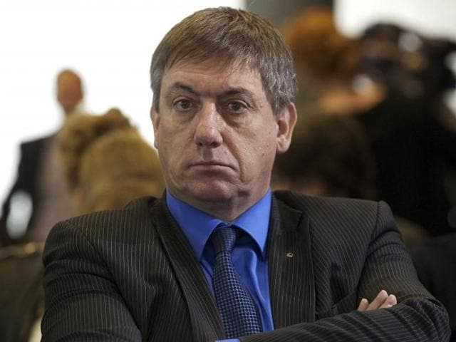 A file photo of Belgian interior minister Jan Jambon.