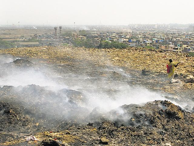 Investigations revealed fires make it easy for ragpickers to dig out exposed metal from the scrap.