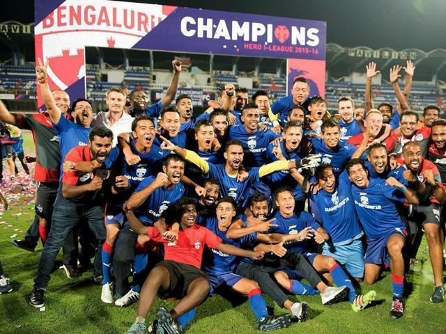Bengaluru FC,I-League champion,Salgaocar SC
