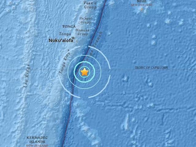 Earthquake,Tonga,Nuku'alofa