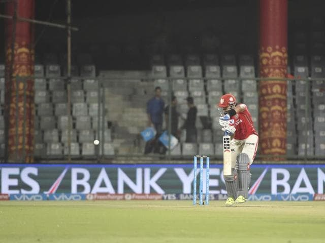 Though BCCI has not released the official figure, less than 20,000 were estimated to have watched Delhi Daredevils' match against Kings XI Punjab at Kotla on Friday.