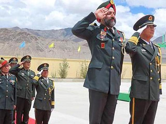 Sino-India talks,India China defence issues,India China military relationship