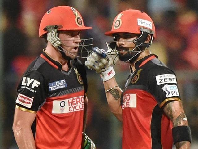 AB De Villiers says comparing RCB's top trio of Virat, Gayle and him to Barcelona's Messi, Suarez, Neymar is embarrassing.