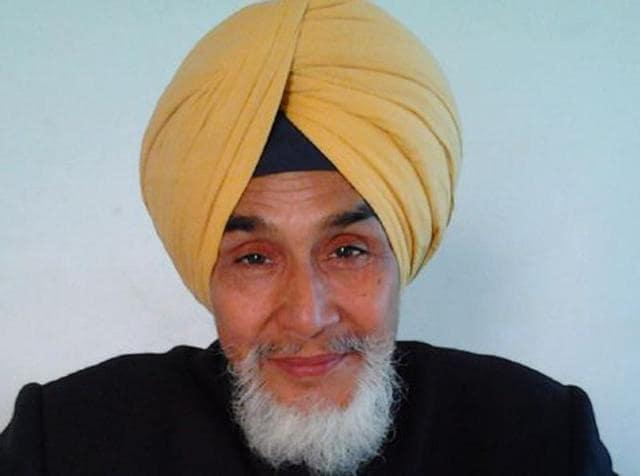 Aam Aadmi Party (AAP) Punjab convener Sucha Singh Chhotepur.