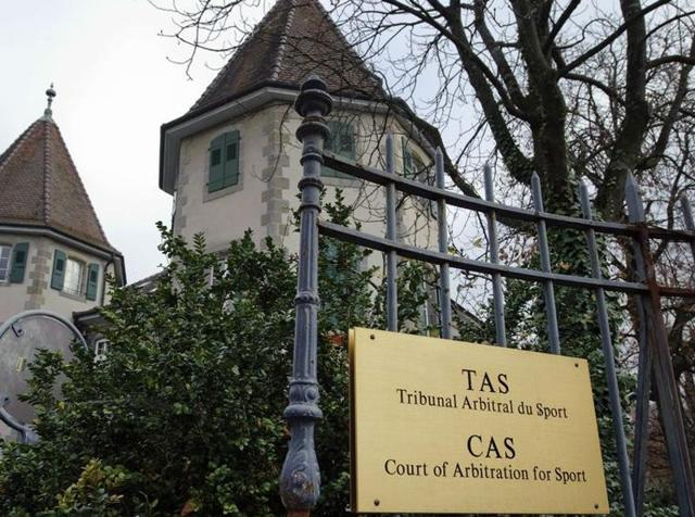 A file photo of the Court of Arbitration for Sport.