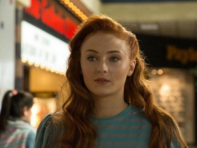 Sophie Turner plays Jean Grey in X-Men: Apocaypse.