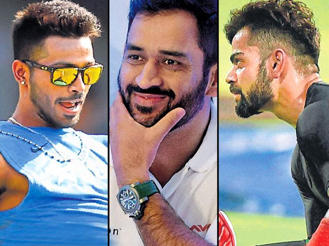 Here's looking at the most stylish hairstyles sported by the current crop of IPL players.