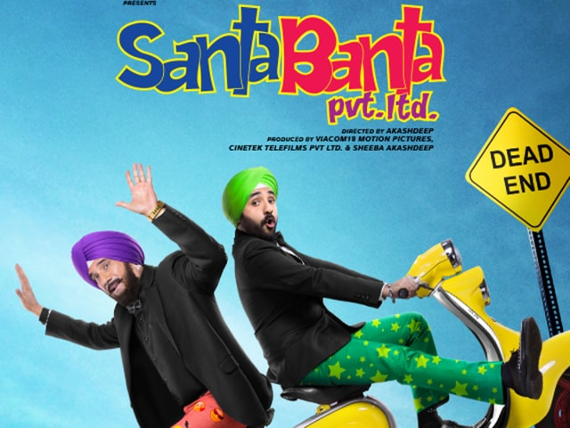 The poster of 'Santa Banta Pvt Ltd'