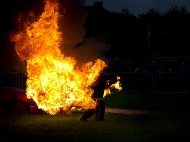 Muzaffarpur,Minor self-immolation,Bihar